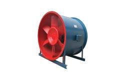 HTF型轴流式消防排烟风机特点